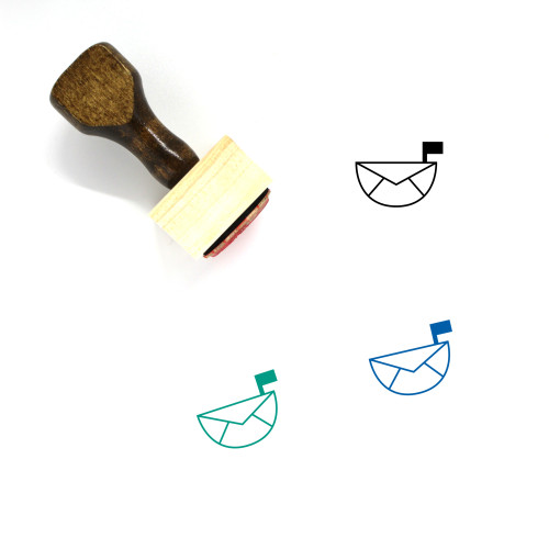 Post Wooden Rubber Stamp No. 31
