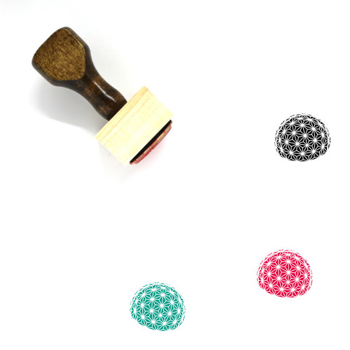 Dome Wooden Rubber Stamp No. 20
