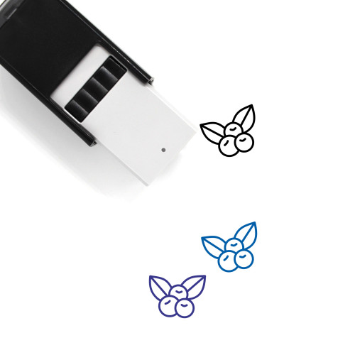 Berries Self-Inking Rubber Stamp No. 44