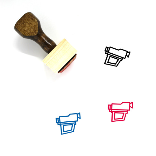 PXL 2000 Wooden Rubber Stamp No. 1