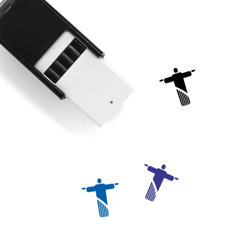 Christ The Redeemer Self-Inking Rubber Stamp No. 20