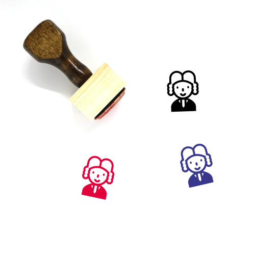 Lawyer Wooden Rubber Stamp No. 67