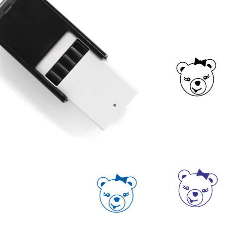 Tongue Out Self-Inking Rubber Stamp No. 35
