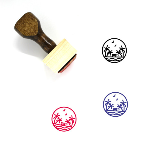 Nature Wooden Rubber Stamp No. 176