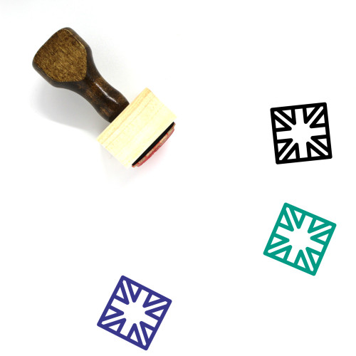 English Wooden Rubber Stamp No. 1