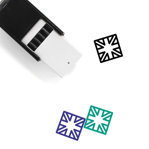English Self-Inking Rubber Stamp No. 1