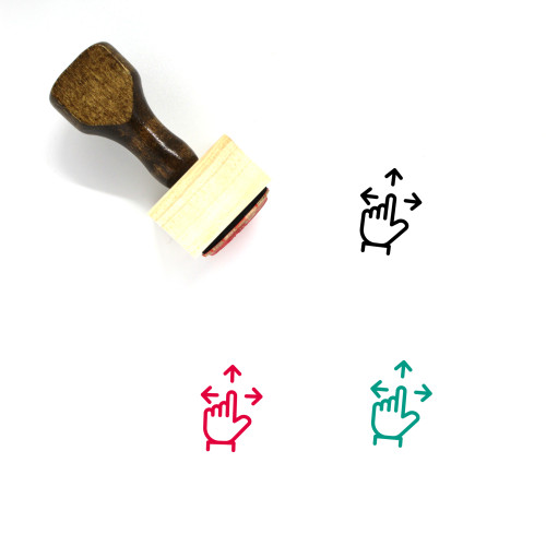 Directions Wooden Rubber Stamp No. 81