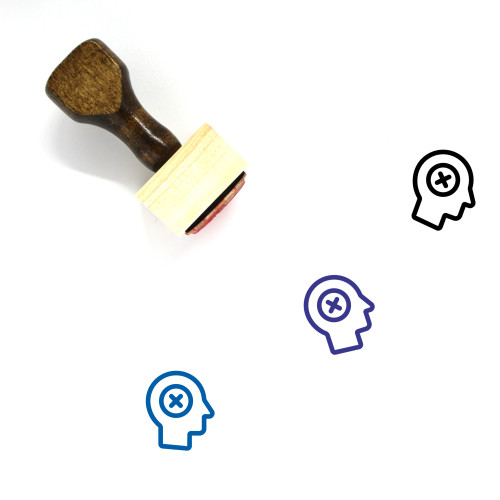 Refuse Wooden Rubber Stamp No. 16