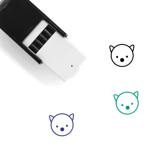 Bear Self-Inking Rubber Stamp No. 151