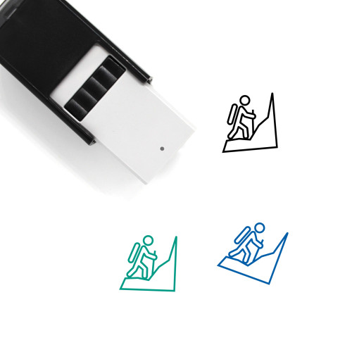 Climb Self-Inking Rubber Stamp No. 11