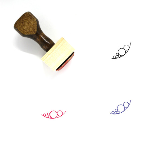 Data Gravity Wooden Rubber Stamp No. 1