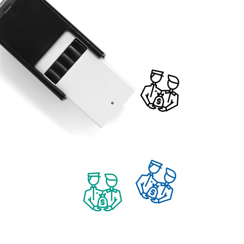 Corruption Self-Inking Rubber Stamp No. 22