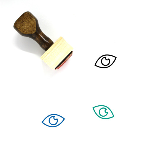 Eye Wooden Rubber Stamp No. 463