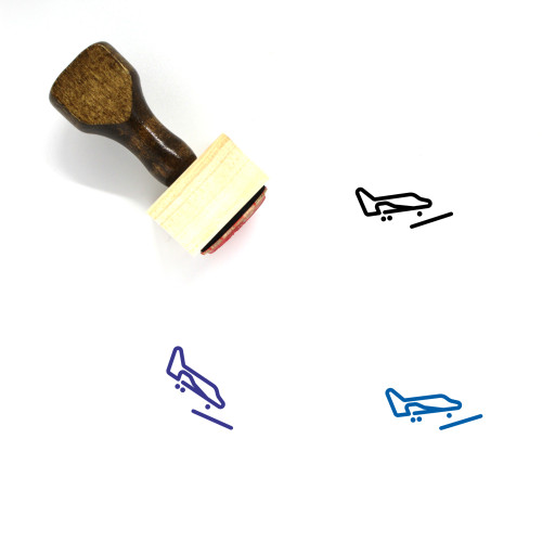Space Shuttle Wooden Rubber Stamp No. 26