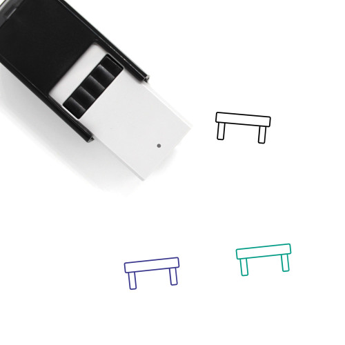 Bench Self-Inking Rubber Stamp No. 15