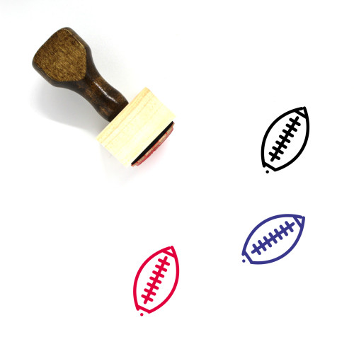 AFL Wooden Rubber Stamp No. 4