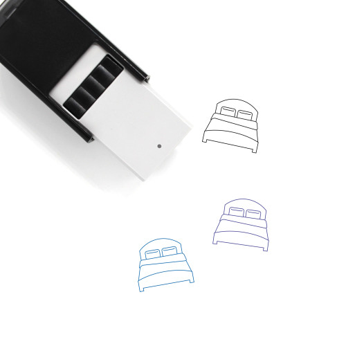 Bed Self-Inking Rubber Stamp No. 79