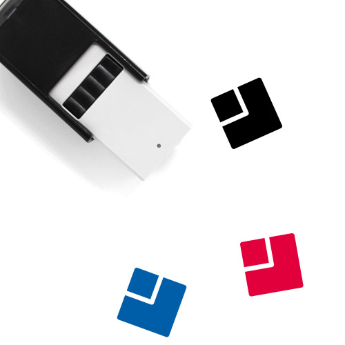 Webpage Layout Self-Inking Rubber Stamp No. 8
