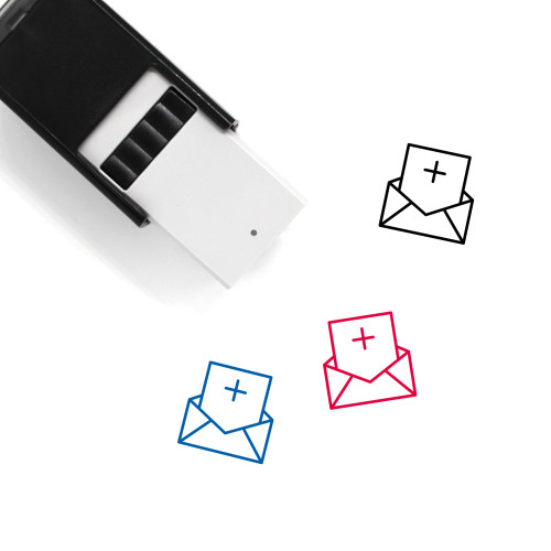 Add Letter Self-Inking Rubber Stamp No. 5