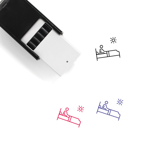 Wake Up Self-Inking Rubber Stamp No. 9