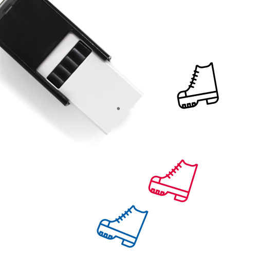 Shoes Self-Inking Rubber Stamp No. 58