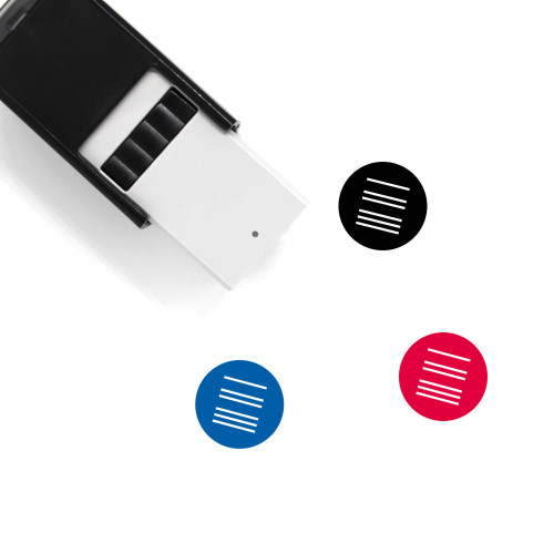Proximity Law Self-Inking Rubber Stamp No. 8