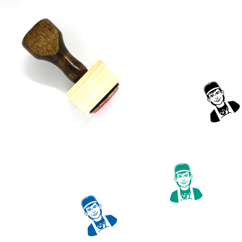 Mechanic Wooden Rubber Stamp No. 26