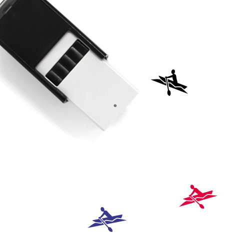 Rowboat Self-Inking Rubber Stamp No. 1