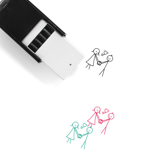 Love Gift Self-Inking Rubber Stamp No. 30
