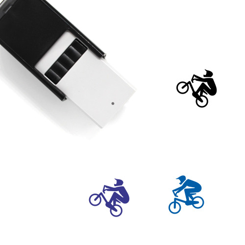 Bmx Self-Inking Rubber Stamp No. 18