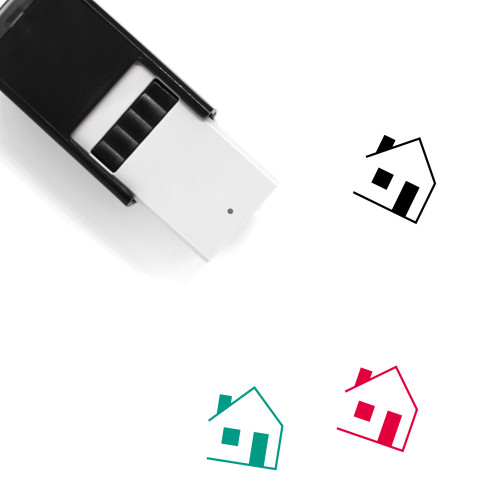 House Self-Inking Rubber Stamp No. 419