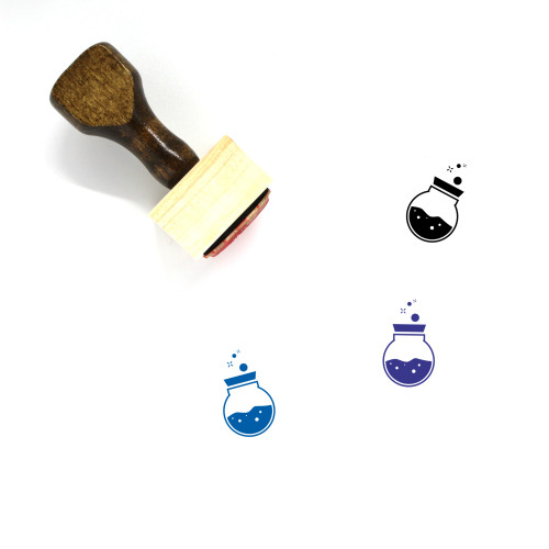 Potion Wooden Rubber Stamp No. 11