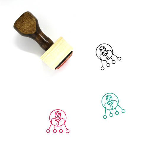 CEO Wooden Rubber Stamp No. 32