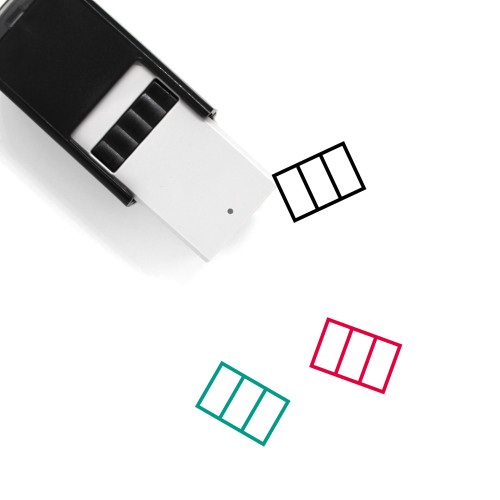 Italy Self-Inking Rubber Stamp No. 46
