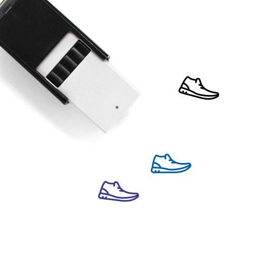 Casual Shoes Self-Inking Rubber Stamp No. 11