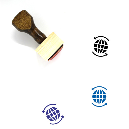 Global Business Wooden Rubber Stamp No. 40