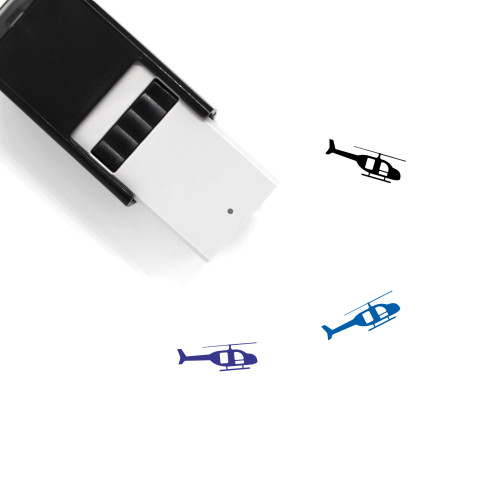 Chopper Self-Inking Rubber Stamp No. 13