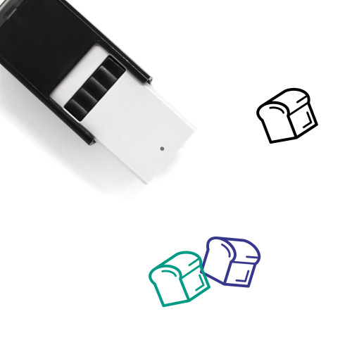 Bread Self-Inking Rubber Stamp No. 67