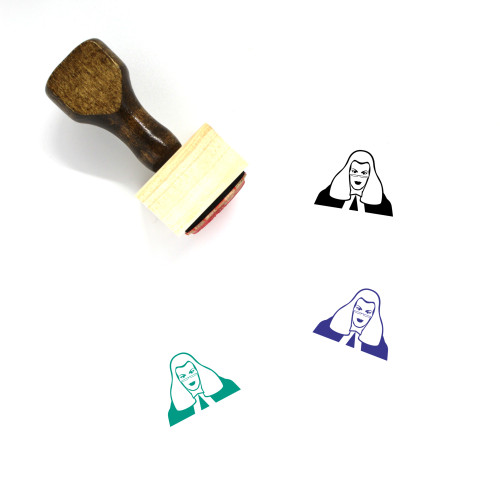 Judge Wooden Rubber Stamp No. 125
