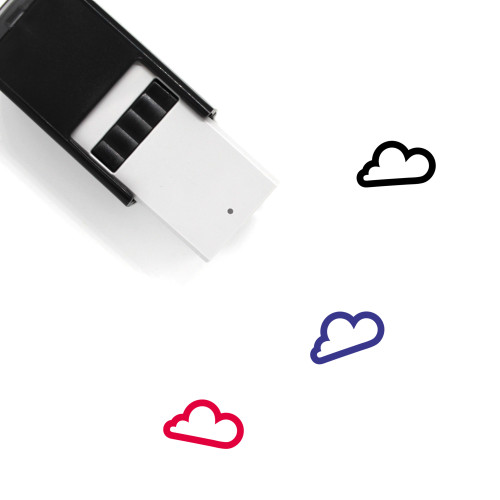 Cloud Self-Inking Rubber Stamp No. 364