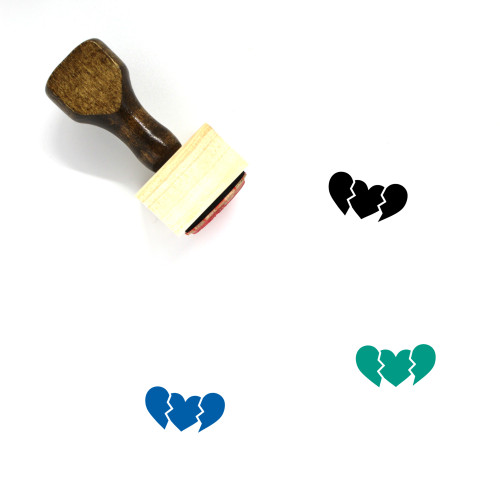 New Love Wooden Rubber Stamp No. 1