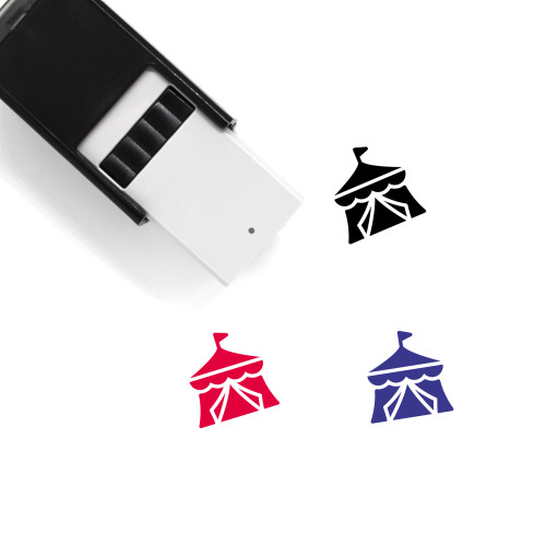 Circus Tent Self-Inking Rubber Stamp No. 35