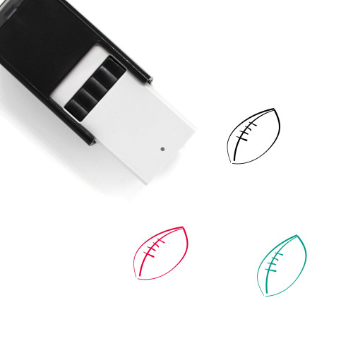 Football Self-Inking Rubber Stamp No. 371