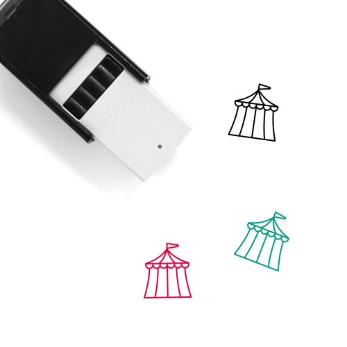 Tent Self-Inking Rubber Stamp No. 86
