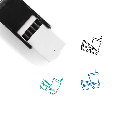 Movies Self-Inking Rubber Stamp No. 22