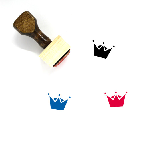 King Wooden Rubber Stamp No. 419
