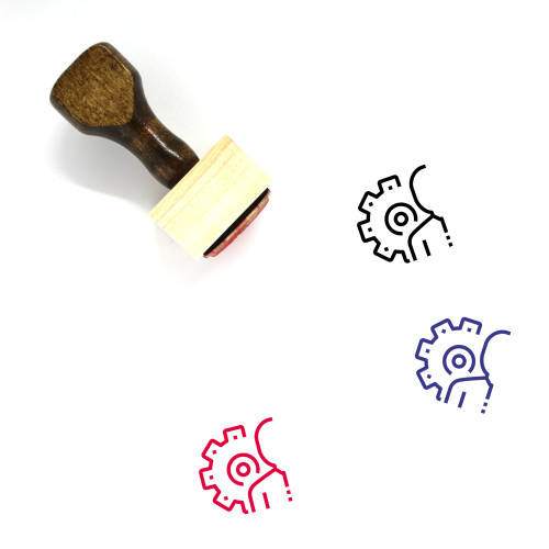 Human Resource Wooden Rubber Stamp No. 78