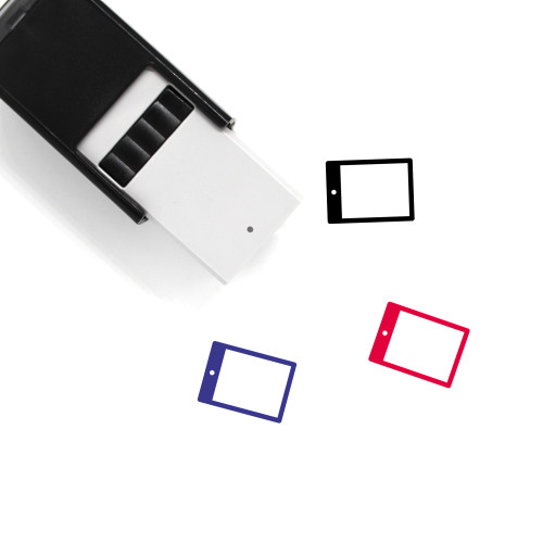 Tablet Self-Inking Rubber Stamp No. 151