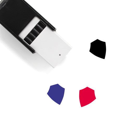 Shield Self-Inking Rubber Stamp No. 723