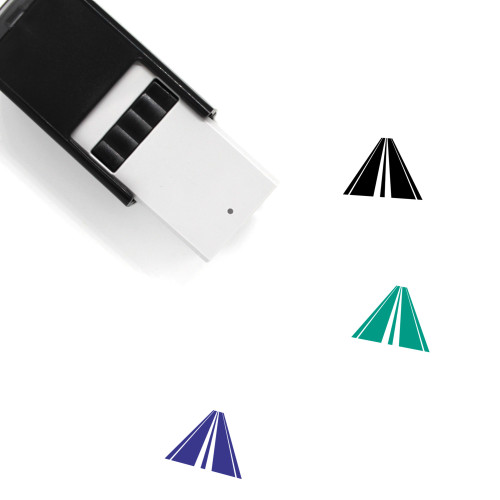 Small Highway Self-Inking Rubber Stamp No. 1